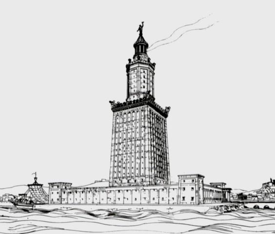 Фаросский маяк видео фото 243-873