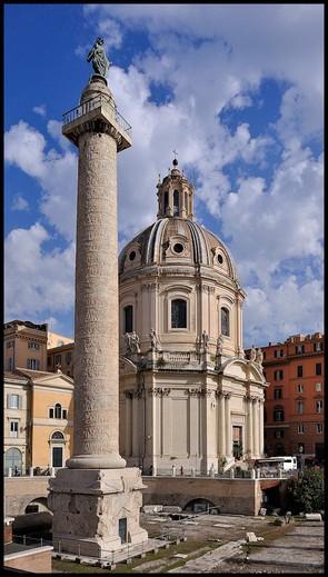 Триумфальная колонна траяна в риме