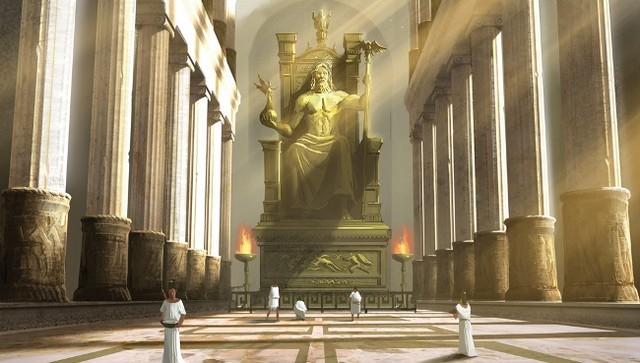 Статуя Зевса в Олимпии – третье чудо света