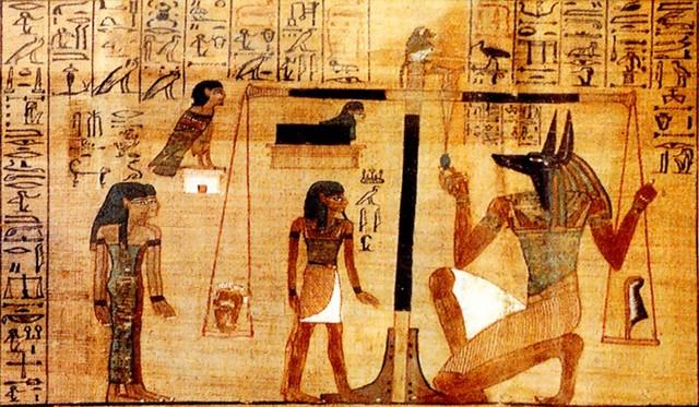 загробная жизнь в египте