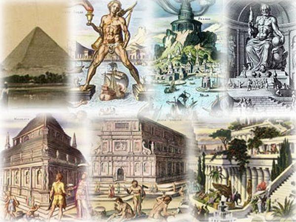 7 чудес света список и фото