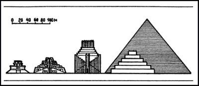 месопотамский зиккурат
