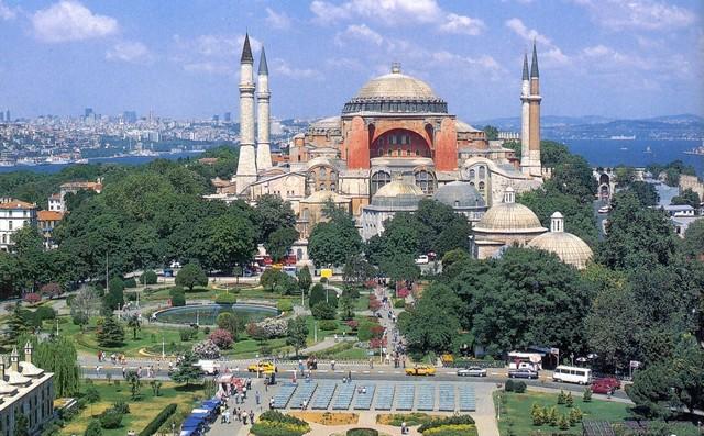 Доклад про храм святой софии в константинополе 9472