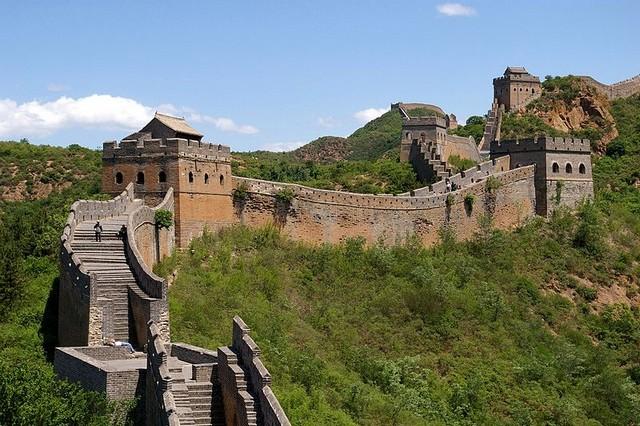 Сторожевые башни - великая китайская стена китай